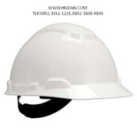 Helm Safety 3M PUTIH PMLOCK HARD HAT H-701P