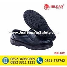 Safety Shoes Ekonomis DR 102 Elastis Samping