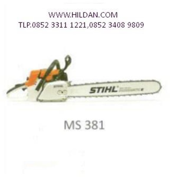 Gergaji Mesin STIHL CHAIN SAW MODEL MS 381 25