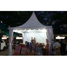 Tenda Sarnafil Full Dinding Penutup Ukuran 3  x  3 m