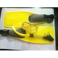 Paket Peralatan Snorkling untuk Penyelam  1