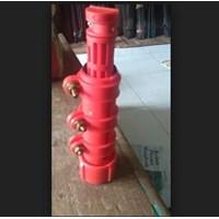 Distributor Gagang Nilon Holder Egrek Kelapa Sawit Warna Merah 3