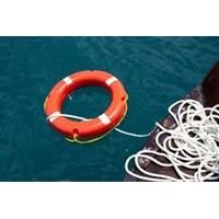 Jual Pelampung Cincin Ring Buoy Fiber Lifebuoy  2