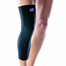 Knee Support (Decker Lutut) Long LP-667 warna Hitam (black)
