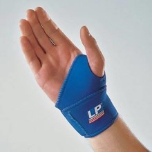 Sarung Tangan Cedera Wrist Wrap Thumbs LP Support LP 726