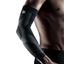 Pelindung Siku Tangan EMBIOZ ARM COMPRESSION SLEEVE BLACK