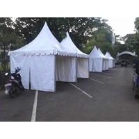 Tenda Sarnafil Ukuran 5 x 5 meter Full Dinding di Semarang