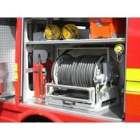 Hose Reel Merk ZHIELD Gulungan Selang Air Pemadam Kebakaran
