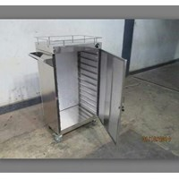 Jual Food Trolley 2 Pintu 8 Tray
