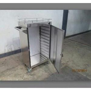 Food Trolley 1 Pintu 16 Tray untuk Hotel
