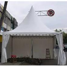 Tenda Sarnafil Ukuran 4 x 4 dengan Dinding