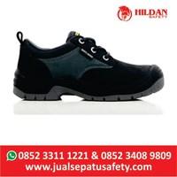 Sepatu Safety SHOES JOGGER SAHARA 018 BLACK - HITAM BARU 1