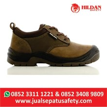 Sepatu Safety JOGGER SAHARA 019 Warna BROWN - COKLAT
