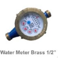 Water Meter Merk AMICO Brass SNI Setegah 1 . 2