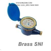 Water Meter AMICO Brass Meglio Ukuran Tiga Perempat  SNI di Surabaya