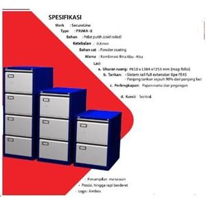 Lemari Arsip untuk Kantor Merk SECURE PRIMA - X