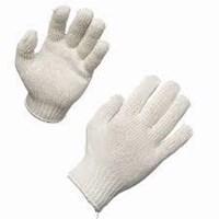 Sarung Tangan Rajut Warna Putih