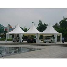 Tenda Sarnafil Ukuran 5 x 5 meter 550 GSM Terpaulin Polos