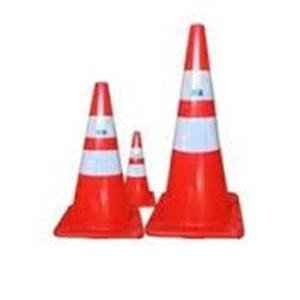 Traffic Cone Pembatas Jalan BESTGARD PVC 75 cm di Surabaya