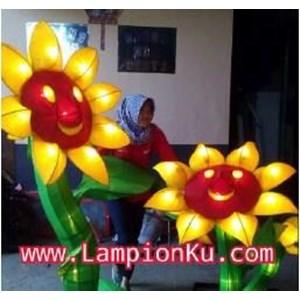 Lampion Bunga Matahari