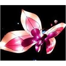 Produksi Lampion Karakter Kupu Kupu