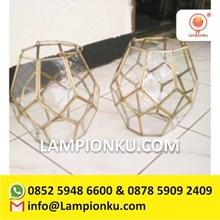 Toko Terrarium Hexagonal Vas Kaca