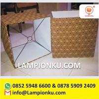 Jual Produsen Kap Lampu Persegi Jakarta