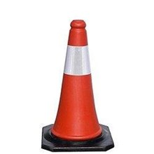 Traffic Cone Pembatas Jalan MK-108 PVC 750 mm Hildan Safety