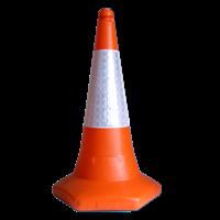 Jual Kerucut Pembatas Jalan MK-109 PVEC Traffic Cone Hildan Safety
