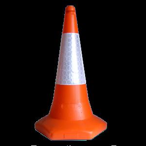 Kerucut Pembatas Jalan MK-109 PVEC Traffic Cone Hildan Safety