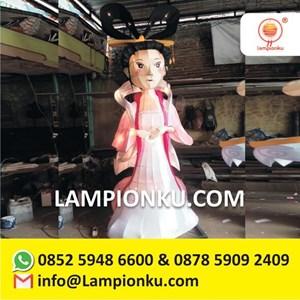 Produsen Lampion Karakter Festival Bandung