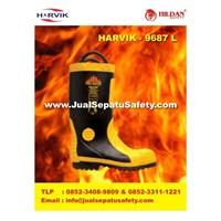 Sepatu Kebakaran HARVIKS  Type 9687 di Bandung 1