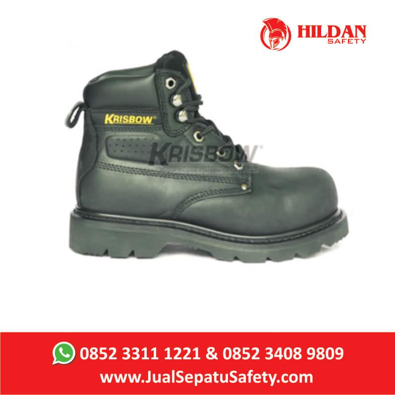 Jual Safety Shoes KRISBOW VULCAN BLACK