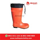 Sepatu Safety Krisbow Boot Rubber Orange -PVC di Bandung 2