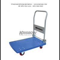 Trolley Merk KRISBOW 300 KG 10100180 Biru di Bandung
