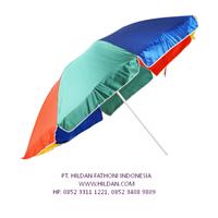 Payung PARASOL Pelangi Polos di Semarang