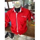 Baju Seragam Kerja TELKOM INDIHOME FIBER Merah Murah Satuan 3