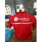 Baju Seragam Kerja TELKOM INDIHOME FIBER Merah Murah Satuan 1