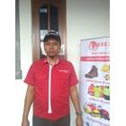 Baju Seragam Kerja TELKOM INDIHOME FIBER Merah Murah Satuan 2