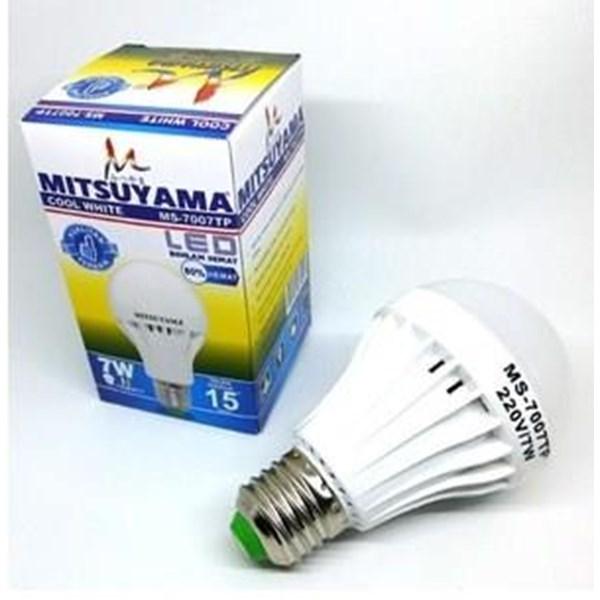Lampu LED Bohlam Mitsuyama 7 Watt