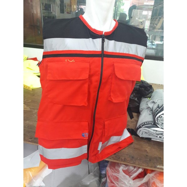 Rompi Custom P3K - PARAMEDIK Hildan Safety Jakarta