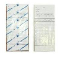 Jual  Kartu Absen Time Recorder  AMANO EX3500N 100 Lembar/Pack