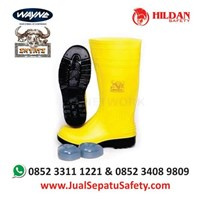 Jual Sepatu Safety BOOT Wayna INYATI Warna Kuning
