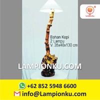 Produsen Lampu Hias Kopi Kayu MURAH Tangerang