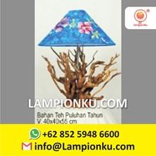 Pengrajin Lampu Kopi Kayu Klasik MURAH Bandung