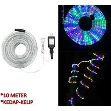Lampu Selang LED Decorasi Outdoor Pohon Rope Light 10M Warna Warni