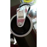 Jual Roda Tanpa REM - Roda Trolley Diameter 10 ml Bahan Rubber 2