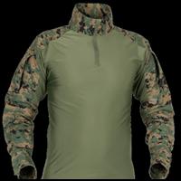 Combat Shirt Tactical Body Suit - Hijau