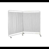 Bed Screen 2 Bidang - Pembatas Ruang Rumah Sakit dan Klinik 1