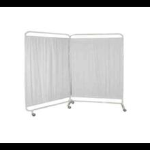 Bed Screen 2 Bidang - Pembatas Ruang Rumah Sakit dan Klinik